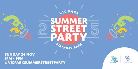 Vic Park Summer Street Party 2019 tickets