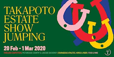 Takapoto Estate Show Jumping 2020 tickets