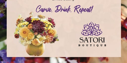 Pumpkin Floral Wine & Design
