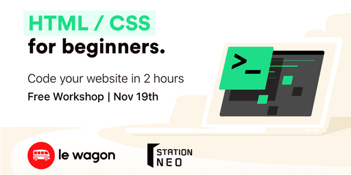 Code your first landing page in 2 hours (English)