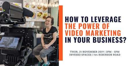 How to leverage the power of video marketing in your business? tickets