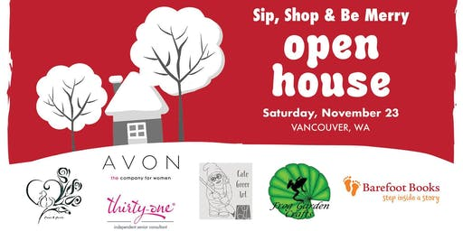 2019 Sip, Shop & Be Merry Open House