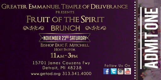 Fruit of the Spirit Brunch