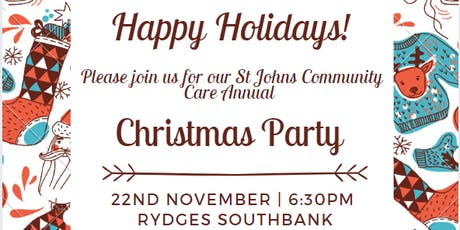 St John's Community Care Townsville Annual Christmas Party tickets