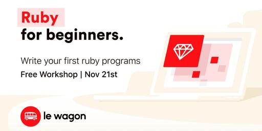 Le Wagon Workshop - Ruby for Beginners (English)