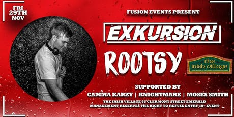 Exkursion Emerald - Ft Rootsy tickets