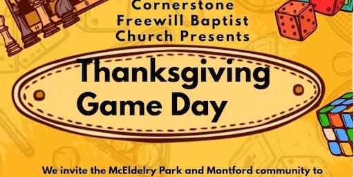 Thanksgiving Family Game Night