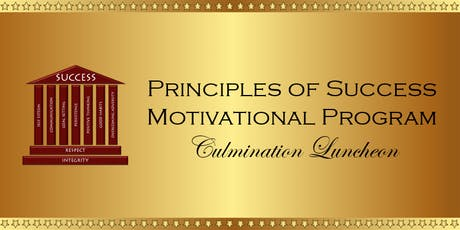 2019 Principles of Success Culmination Luncheon tickets