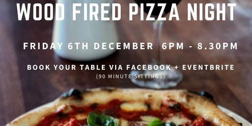 December Wood Fired Pizza Night at Philip Shaw Wines