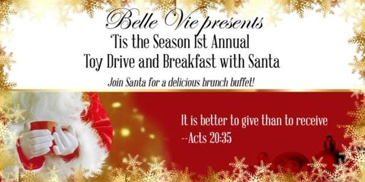 Toy Drive and Breakfast with Santa