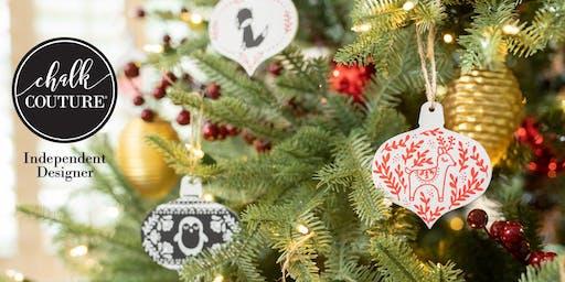 Free Ornament Mini Workshop