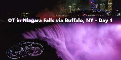 OT in Niagara Falls via Buffalo, NY - Day 1 of Overnight Tour - 29 miles