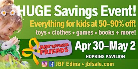 FREE Admission to JBF Edina Spring 2020 tickets