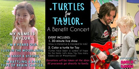 Turtles for Taylor: Live Kids' Music Show Benefit tickets