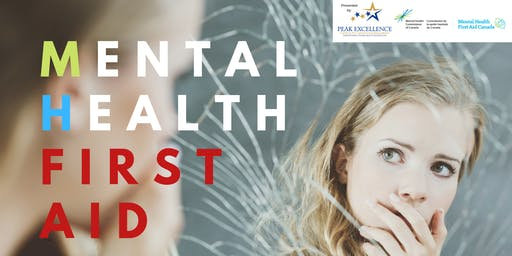 Mental Health First Aid Basic-Orillia-Receive 1 Free Cineplex Admit 1 Ticket with Purchase