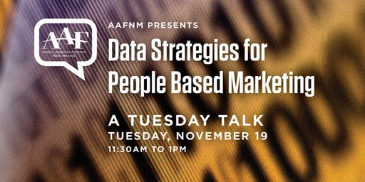 Data Strategies for People Based Marketing