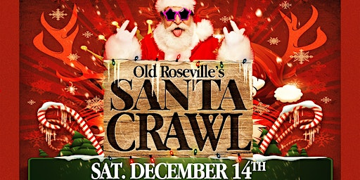 Old Roseville's Santa Bar Crawl