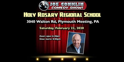 Joe Conklin Comedy Show at Holy Rosary, Plymouth Meeting, PA