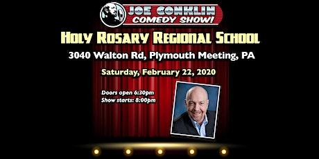 Joe Conklin Comedy Show at Holy Rosary, Plymouth Meeting, PA tickets