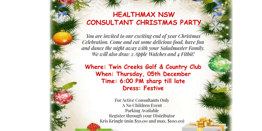 Healthmax NSW Christmas Party