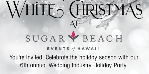 2019 Wedding Industry Holiday Party At Sugar Beach Events