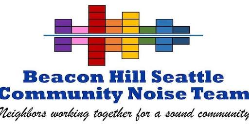 Beacon Hill Seattle Noise Team Celebration & Next Steps