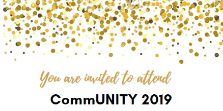 CommUNITY 2019 - Awareness | Advocacy | Action Showcase