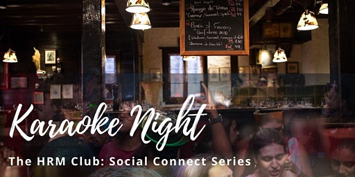 TRU Human Resources Club's social event- The Karaoke Night