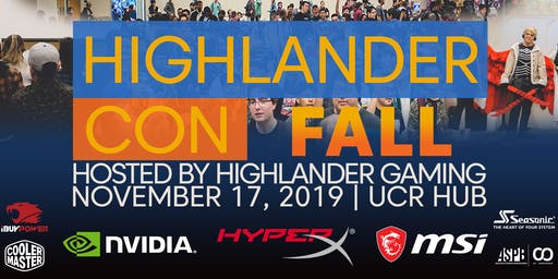 Highlander Con Fall 2019