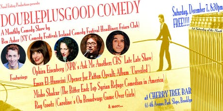 DoublePlusGood Comedy show tickets