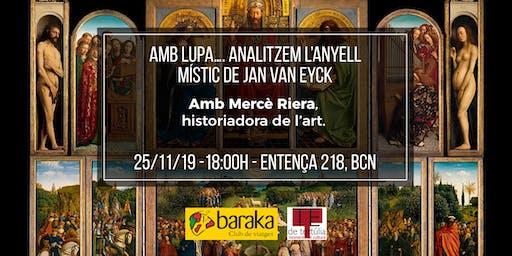 """Amb lupa! Analitzem... """"L'adoració de l'Anyell Místic"""" de Jan van Eyck"""