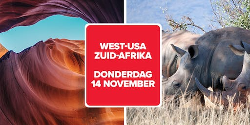 Infosessie Connections Turnhout: West-USA & Zuid-Afrika