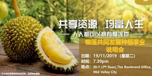 Musang King Durian Orchard (Joint Development)  - Preview Event [Mandarin]