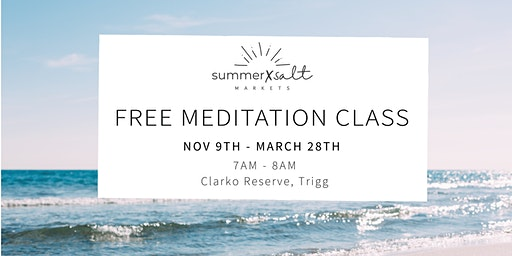 Free Meditation Class by the beach
