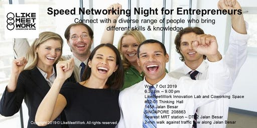 Speed Networking Night for Entrepreneurs