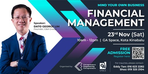 Mind Your Own Business: Financial Management (Nov KK)