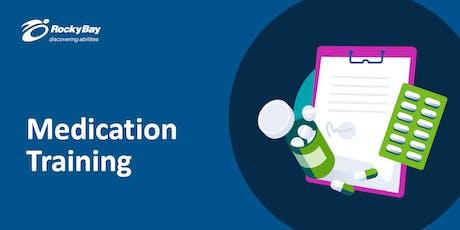 Medication Training tickets