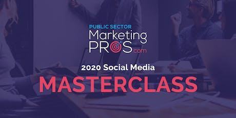 2020 Social Media Masterclass tickets