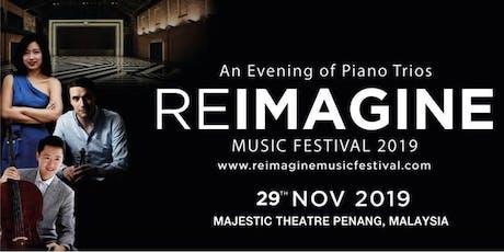 Reimagine Music Festival: An Evening of Piano Trios tickets