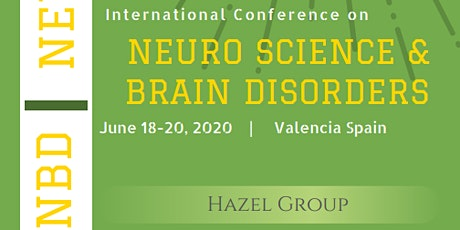International Conference on Neuro Science & Brain Disorders (NBD 2020) entradas