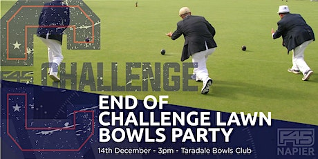 Napier F45 End Of Challenge Lawns Bowls Party tickets