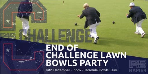 Napier F45 End Of Challenge Lawns Bowls Party