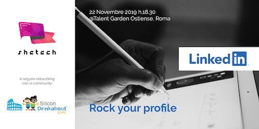 "SheTech Workshop ""Rock your LinkedIn profile!"""