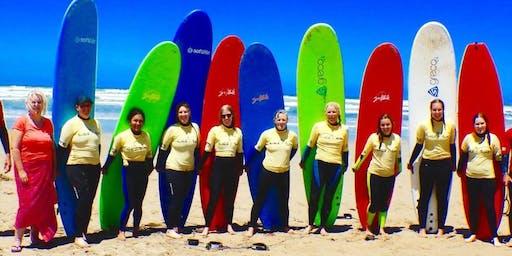 Girl's Surfing' Safari!