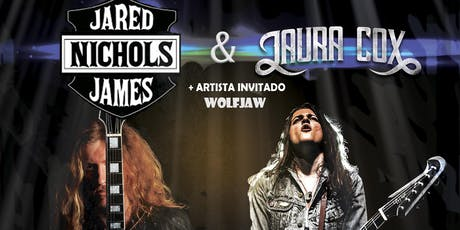 JARED JAMES NICHOLS & LAURA COX + Wolfjaw entradas