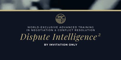 Negotiation & Conflict Special Intelligence Training (2020 Shortlist)