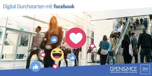 Digital Durchstarten mit Facebook