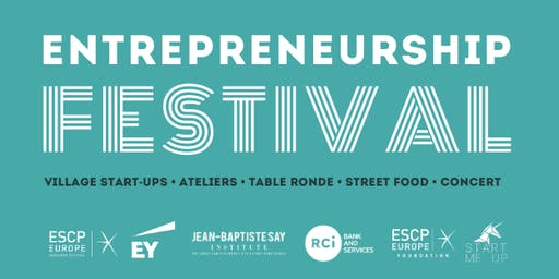 Entrepreneurship Festival 2019 - ESCP Europe
