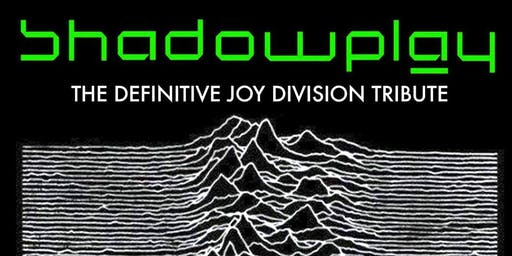 Shadowplay - The Definitive Joy Division Tribute - Live at Jam Cafe