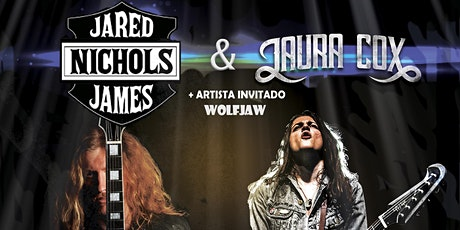 JARED JAMES NICHOLS & LAURA COX + Wolfjaw entradas